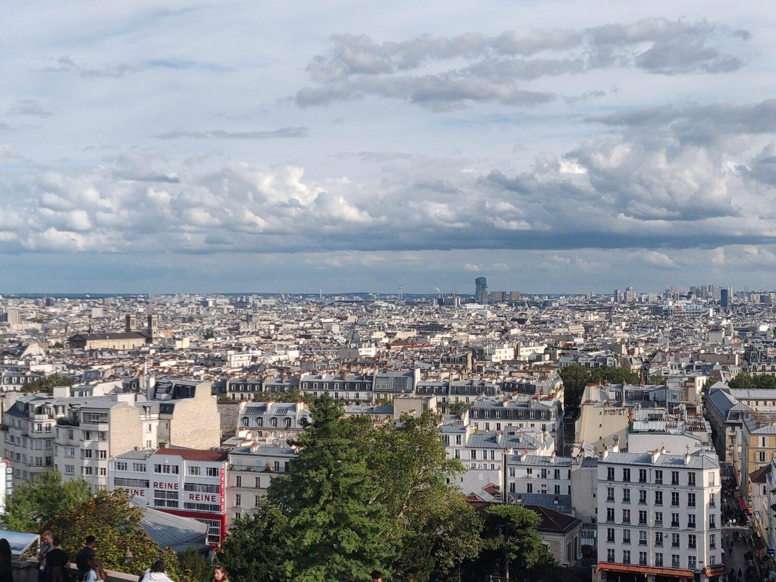 Sicht auf die Dächer von Paris, Architektur,